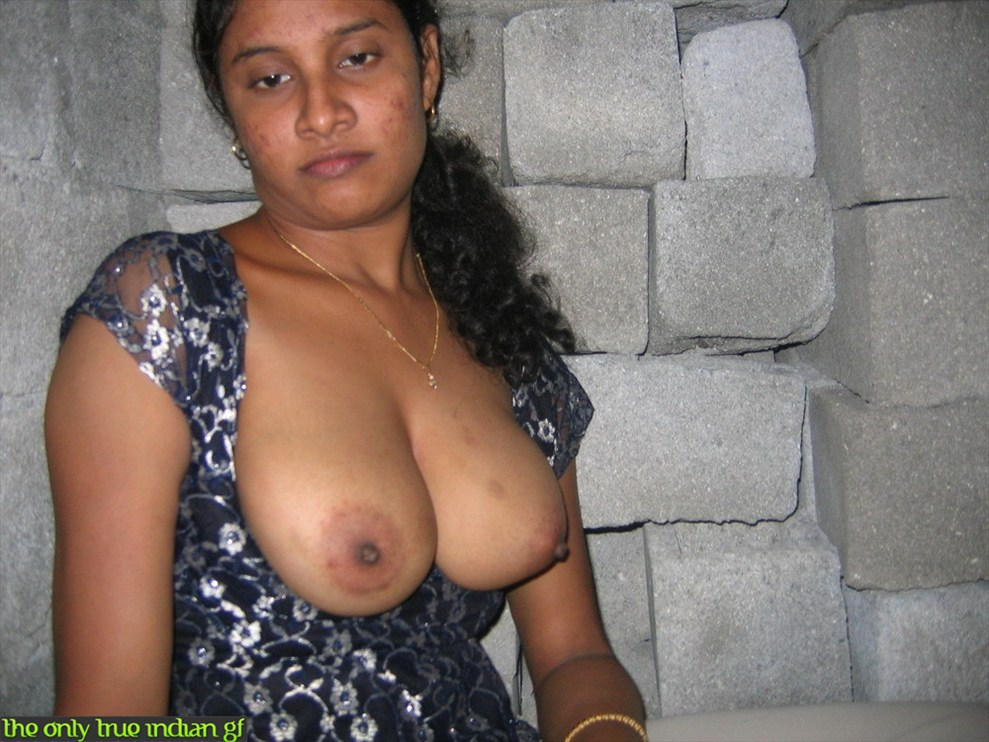 Pretty young Indian girl getting naked