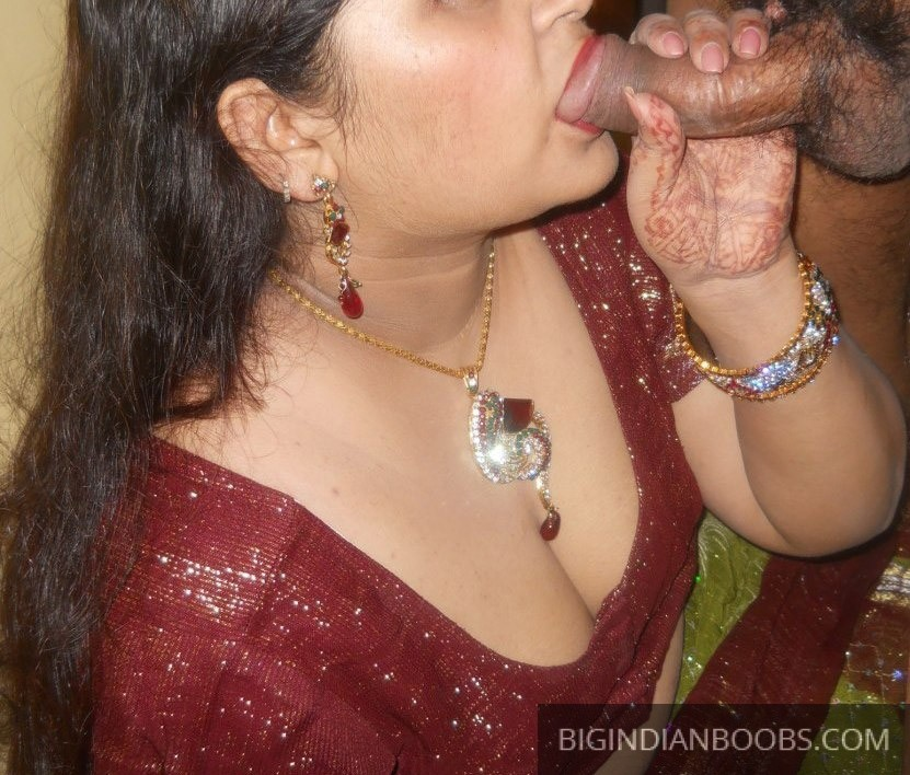 Indian Woman sucking cock