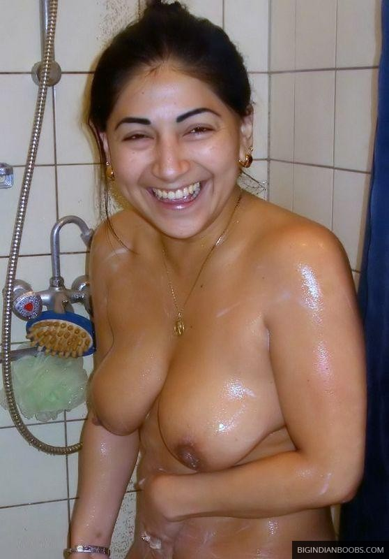 big indian boobs of wife