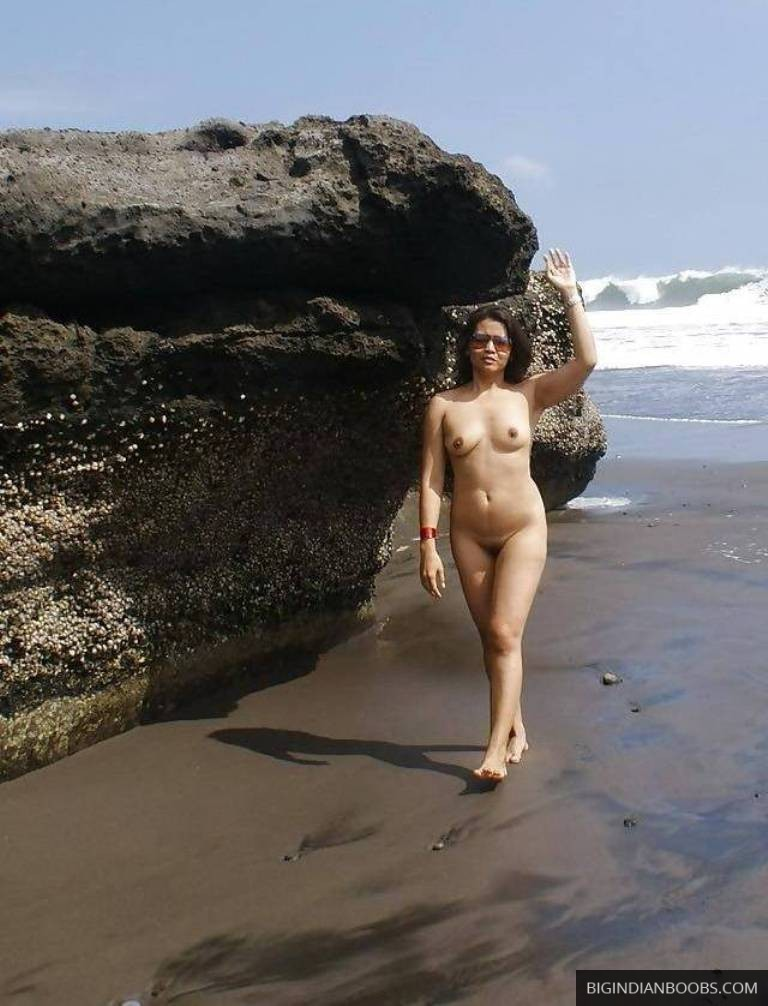 indian wife naked on beach