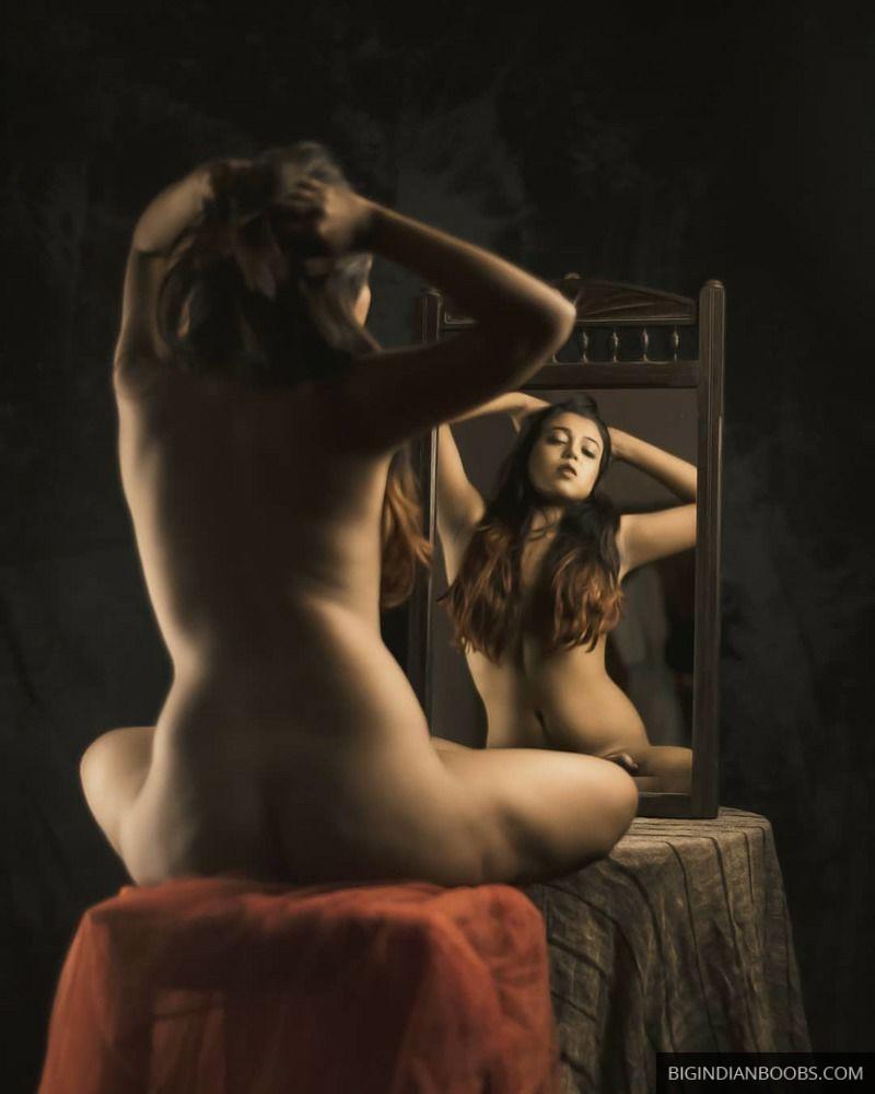 naked desi model photoshoot