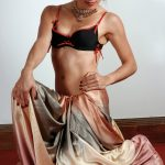 nude indian model in saree